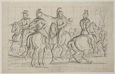 Louis XIV donnant des ordres à ses généraux
