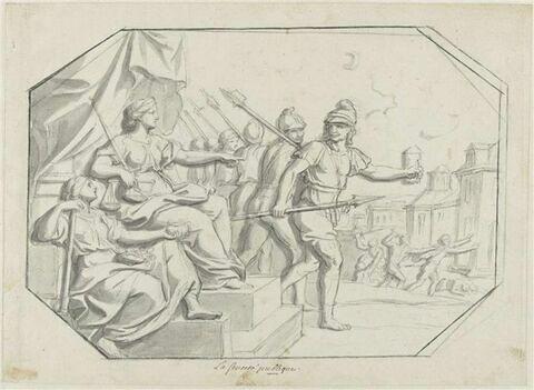 La Police et la sûreté rétablies dans Paris, 1665