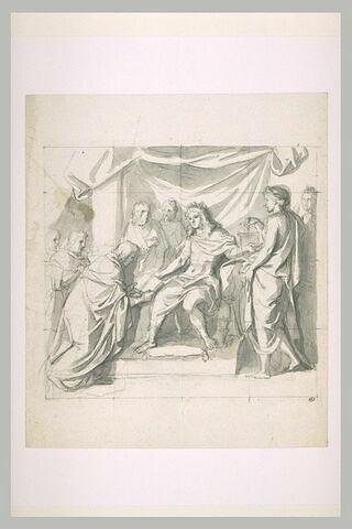 Louis XIV réformant la Justice