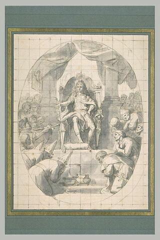 Louis XIV donne audience aux ambassadeurs des nations éloignées