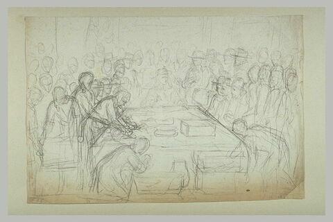 Louis XIV tenant le sceau