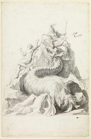 Fontaine de Persée et Andromède