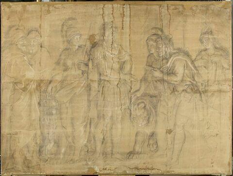 Louis XIV recevant la soumission de l'Espagne