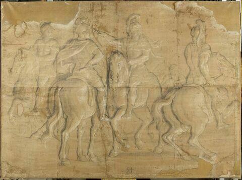 Louis XIV, donnant des ordres à ses généraux