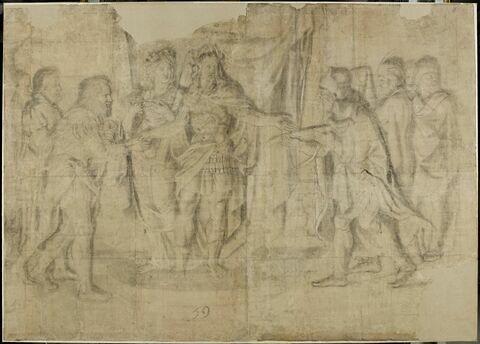 Louis XIV recevant les ambassadeurs étrangers