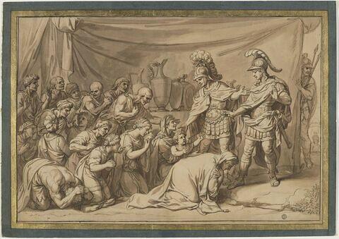 Les Reines de Perses, aux pieds d'Alexandre ou La Tente de Darius