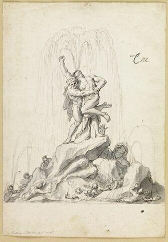 Fontaine d'Hercule et d'Antée