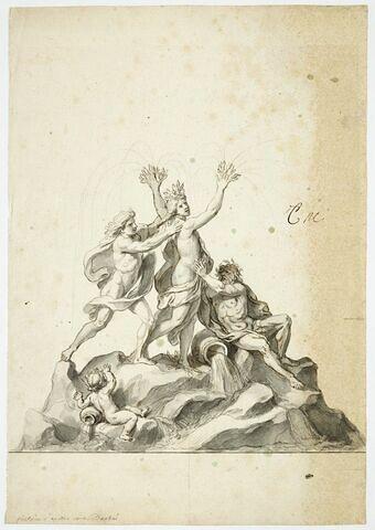 Fontaine d'Apollon et de Daphné