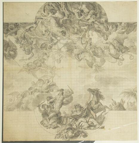 Le Passage du Rhin en présence des ennemis ; Le Roi prend Maëstricht