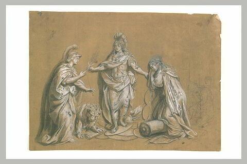La Paix conclue à Aix-la-Chapelle, 1668