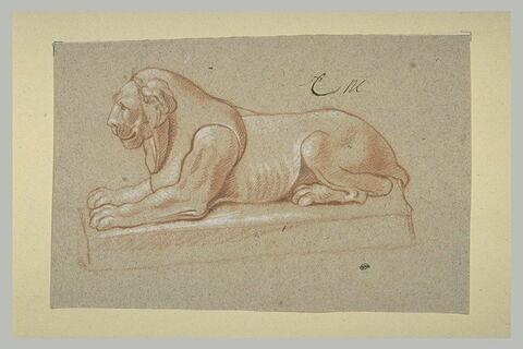 Lion égyptien