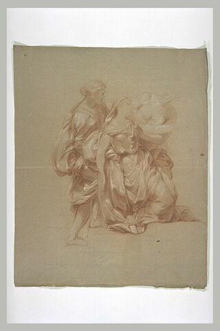 Trois femmes drapées
