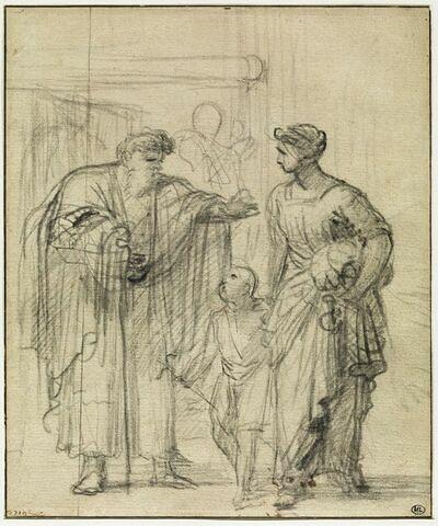 Abraham chassant Agar et Ismaël