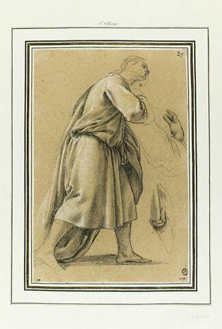 Un disciple de saint Bruno : étude pour le sixième tableau