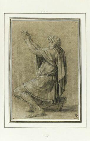 Le comte Roger, duc de Calabre : étude pour le dix-neuvième tableau