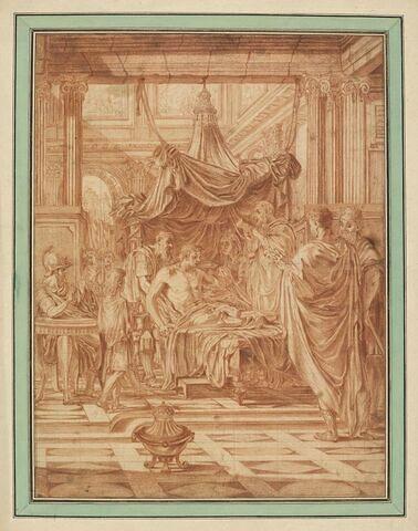 Alexandre le Grand malade