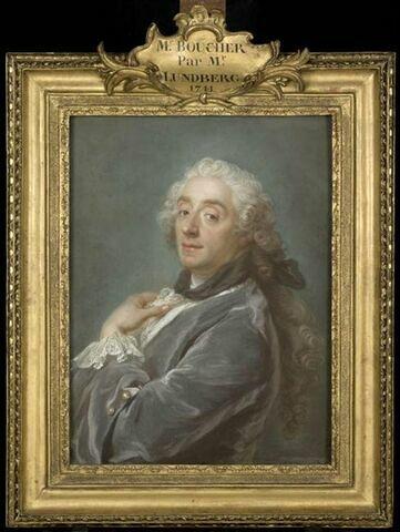 Portrait de François Boucher (1703-1770).