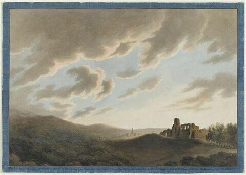 Ruines à Aléria en Corse