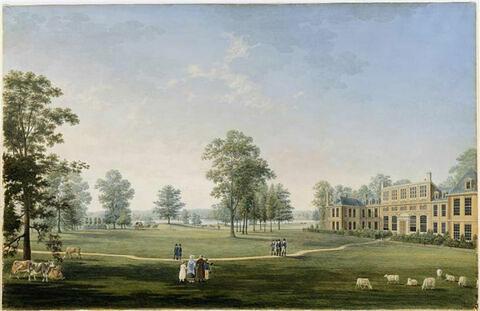 Vue du château de Gosfield