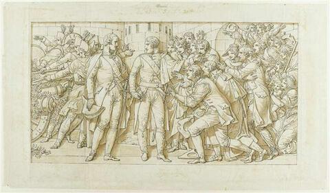 Arc de triomphe du Carrousel : Entrée à Munich en octobre 1805