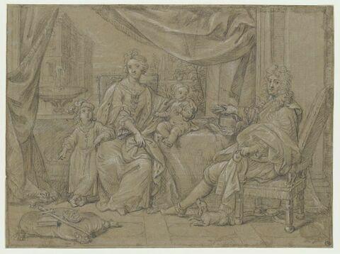 La famille de Jacques II