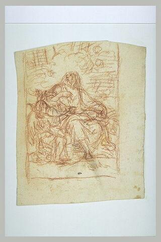 Saint Matthieu écrivant