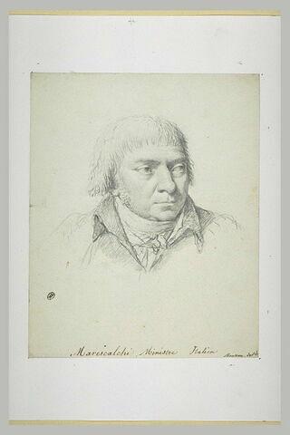 Portrait de Marescalchi