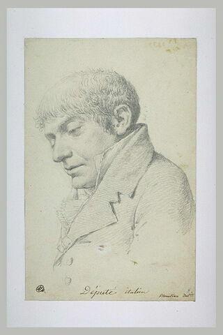 Portrait d'un député italien