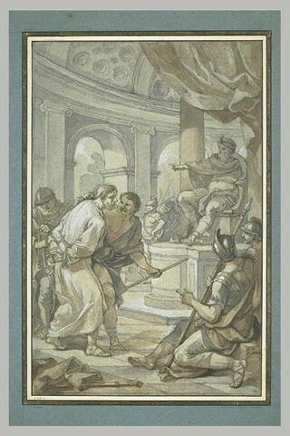 Le Christ devant Hérode