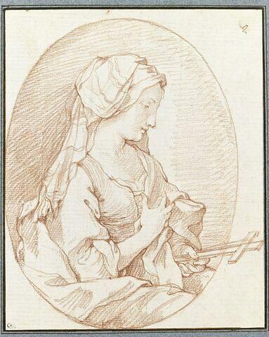 Le buste de sainte Marguerite