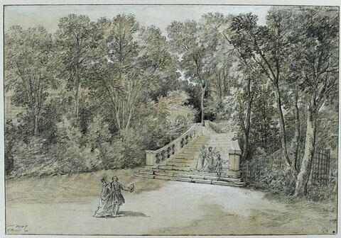 Vue du parc d'Arcueil