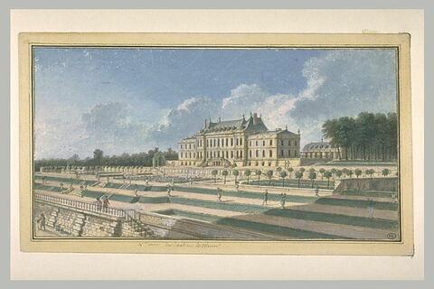 Quatrième vue du château de Ménars