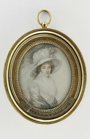 Portrait de Mme la Duchesse de La Rochefoucault