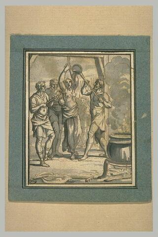 Martyre d'une sainte