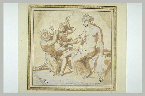 Vénus, l'Amour et Pan