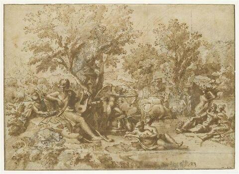 Apollon amoureux de Daphné