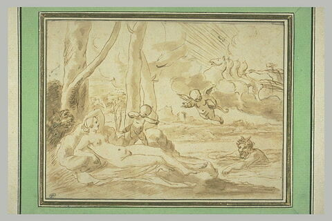 Jupiter et Antiope