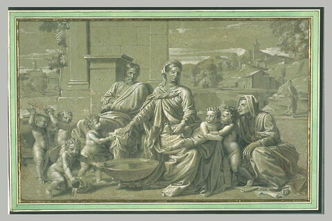 Sainte Famille au bassin