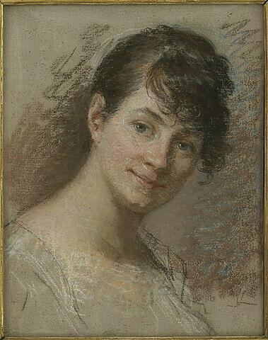 Portrait de Mademoiselle Mayer, artiste peintre