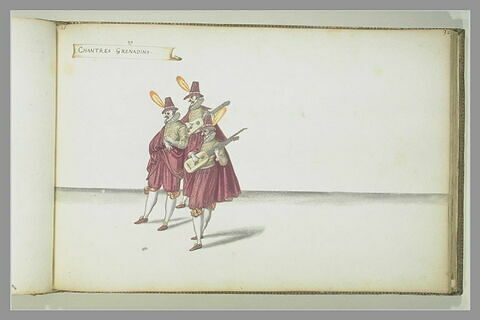 'Chantres grenadins' : trois figures