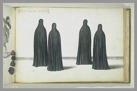 Première entrée des fantômes, quatre figures