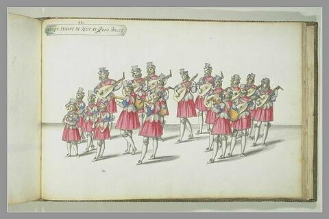 Musique servant de récit au Grand Ballet, dix-huit figures
