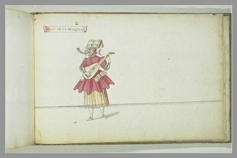 Récit de la musique, une figure de femme