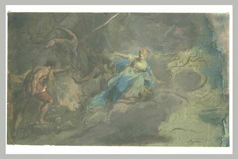 La Destruction du palais d'Armide