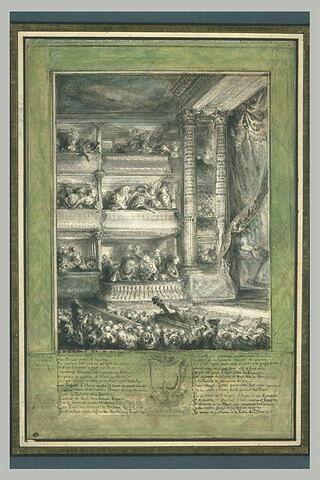 Couronnement de Voltaire à la Comédie Française