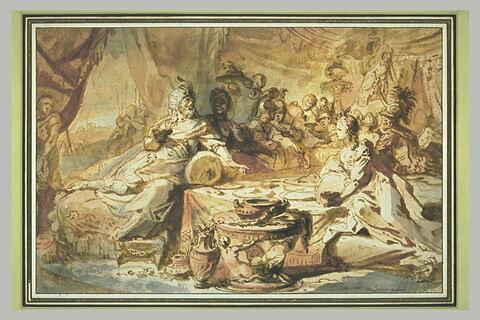 Le festin d'Assuérus