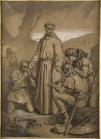 Saint Philibert rachetant les captifs