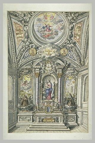 Projet d'autel