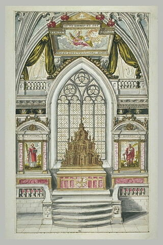 Projet pour un autel