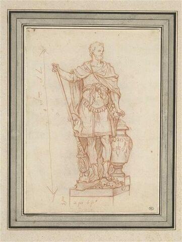 La statue d'Annibal du Jardin des Tuileries